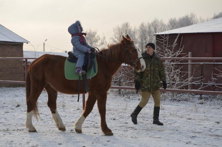 Зимние занятия с детьми